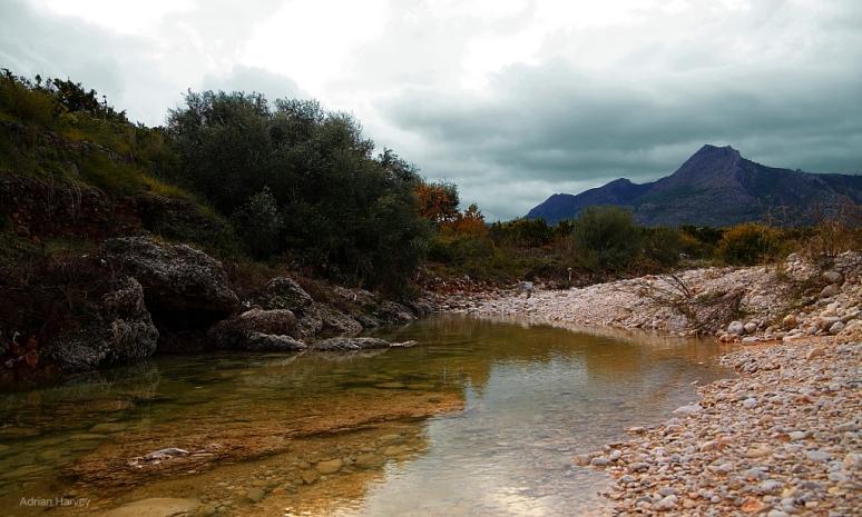 Rio Gerona,Sagra,Spain