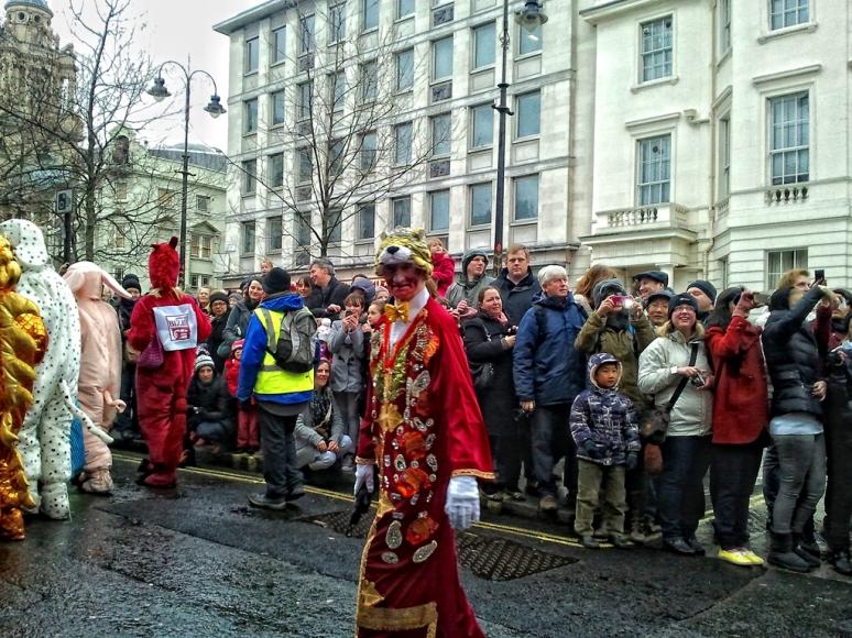 Chinese New Year, London